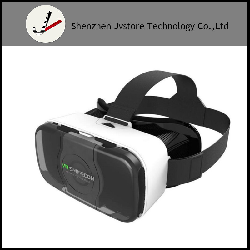 vr shinecon 4.0 vr headset with remote vr 3d china 2x movies video games for smart phone android