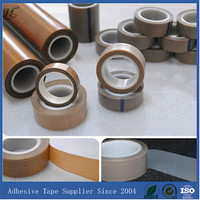 Heat resistant single side PTFE skive tape