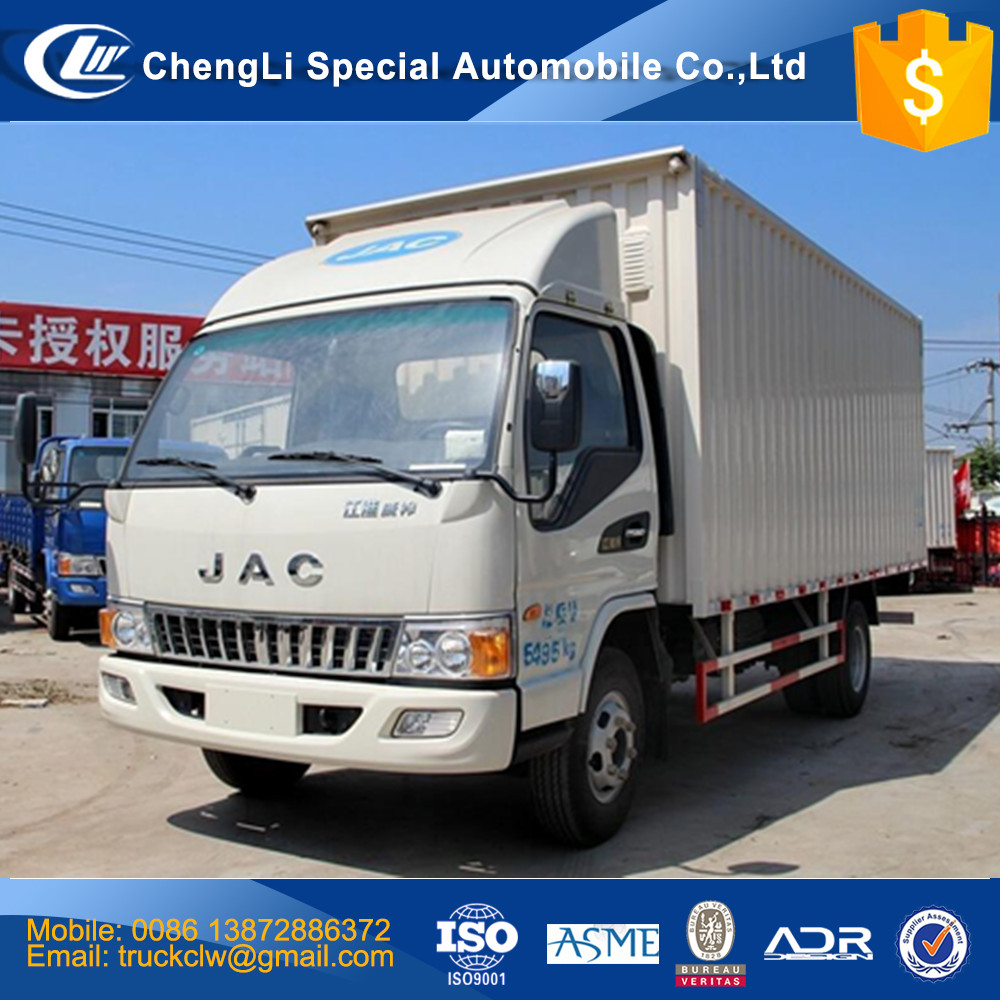 Good performance JAC small cargo trucks 2 ton to 10 ton light duty truck high quality and inexpensive