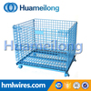 Wire cage type and light duty steel container for storage