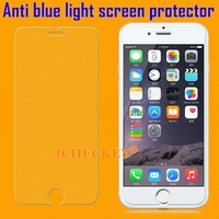 Shenzhen Factory Instock Anti Blue Light Tempered Glass Screen Protector for iPhone 5/5s