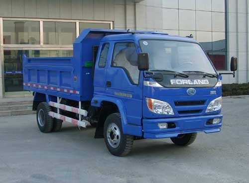 China foton forland 4x2 small light dump truck manufacture for sale
