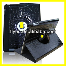 PU Leather 360 Degree Rotating Case Smart Cover Stand for Apple IPad 2 3 4 black