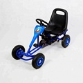 Happy kids mini pedal go kart  with four wheels for 2--8yearsl old  F100B-3