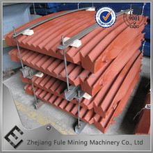Durable Quality smooth surface Consumable parts for jaw crusher