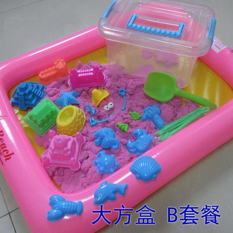 enfants magic modeling sables bricolage jouet sable magique pour les enfants qui jouent. Black Bedroom Furniture Sets. Home Design Ideas