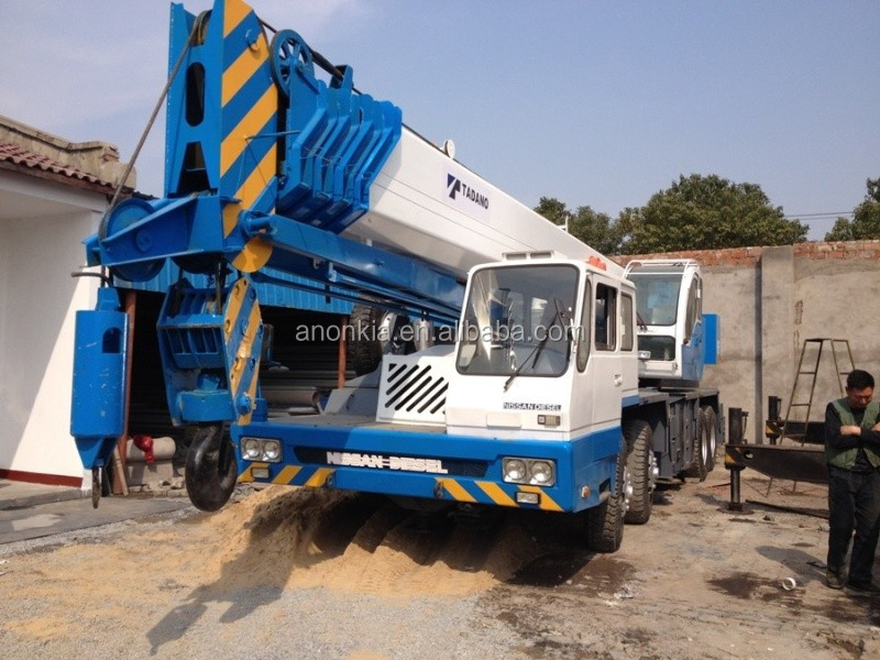 japan tadano 65 ton original used truck crane for sale