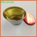 Custom food-grade oval shape biscuit tin box candy tin can biscuit tin packing