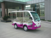 Amusement park electric mini shuttle bus city tourist bus for sale