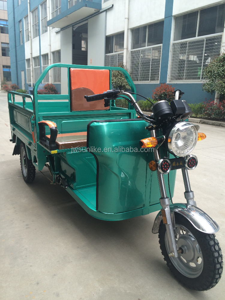 Top sale SUNLIKE electric power Cargo three wheel tricycle for SE Asia market