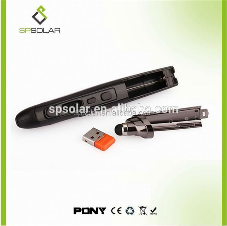 promotional wireless presenter usb laser pointer with low price