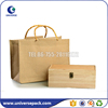 custom blank bamboo handle jute tote bag for shopping
