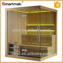 2015 New Design traditional family slimming steam sauna room with sauna-sunlight