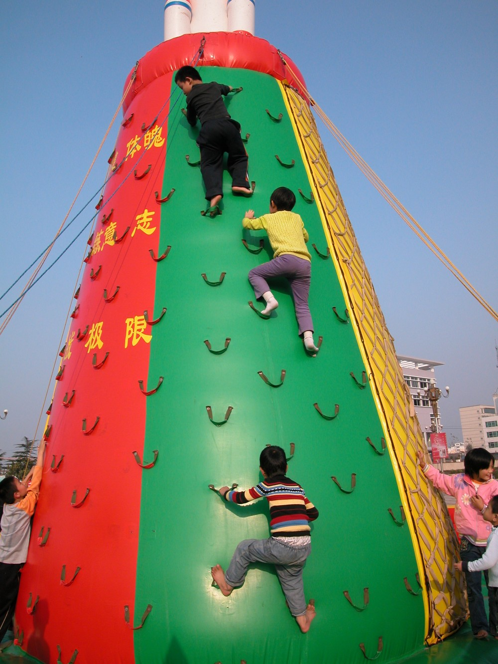 2016 Inflatable climbing wall/inflatable rock climbing wall for sale