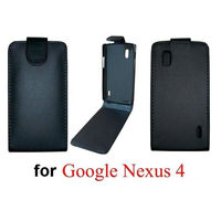 Leather Flip Case Cover for Google Nexus 4 LG E960