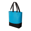 2015 year popular design blue and black mosaic felt leisure bag for sale