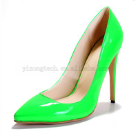 JUSITY 2015 Reasonable Price and Good Quality Nice Women High Heel Pump Shoes JY-P-003