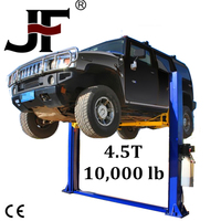 Reliable double cylinder hydraulic used motorcycle lifts