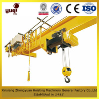 Drawing customized overhead gantry crane used in workshop plant