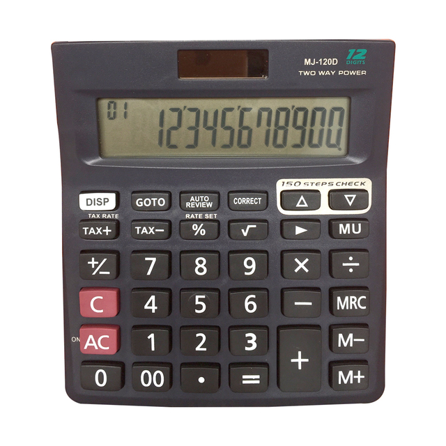General Purpose Currency Converter Electronic Calculator 12 Digits Correct Electronic Calculator