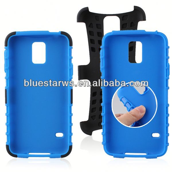 new 2014 for samsung galaxy s5 robot case galaxy s3 kickstand case