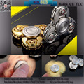 QZD813 Oxidation Treatment Hand Finger Spinner Fidget Ceramic ball Bearing