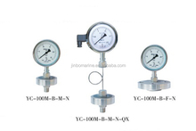 YC-M Type Diaphragm Sealed Pressure Gauge