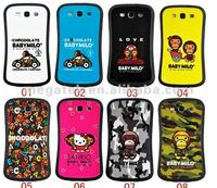 Cell phone case phone accessories soap design iface rubber case for samsung galaxy s3 i9300