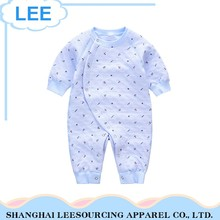 Long Sleeve Baby Onesie Organic Bamboo Infant Cotton Romper