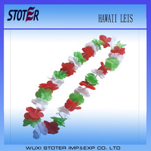 cheap price price hawaii flower necklace lei