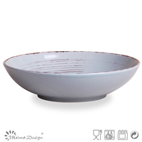 wholesale brush serving plate
