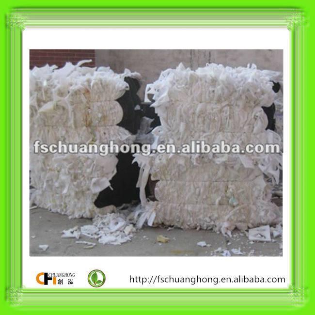 AA GRADE High Quality Pure white PU furniture Foam Scrap /foam trim/Clean and dry