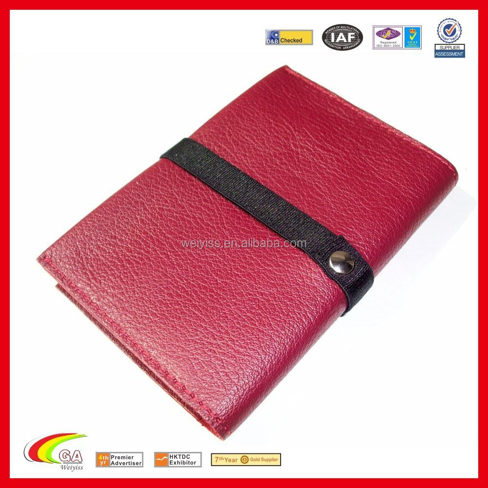 Soft Genuine Leather Business Card Holder Pocket Size