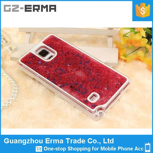 New Novelty Color Mobile Phone Glitter Case for Samsung Galaxy Note 4