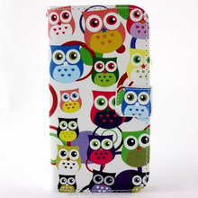Wallet Case For Samsung Galaxy S5 Flip Color Printing Leather Cover
