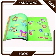 film lamination colorful kids easy cartoon book for kids english story book
