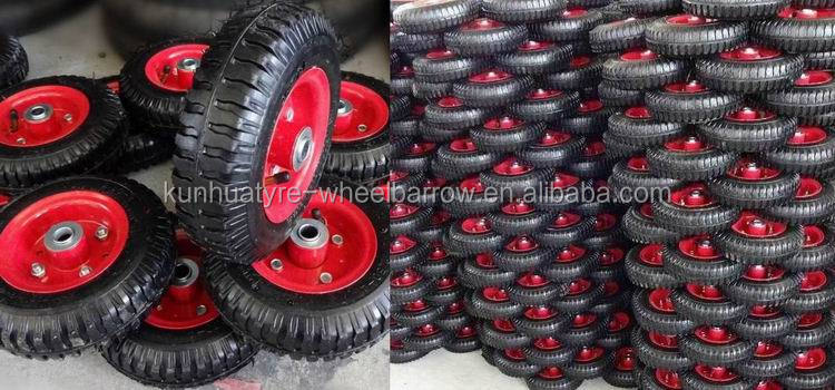 high quality competitive price 4.00-8 farming wheel barrow tire