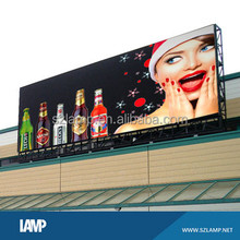 P10 outdoor double sided advertising led tv billboard