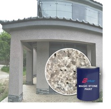 granite textured exterior waterproof paint stone coating