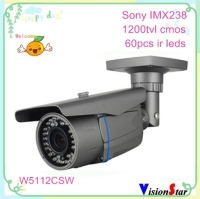 New security sony imx238 DSP cctv camera 1200tvl cmos with super WDR OSD ir-cut weatherproof camera