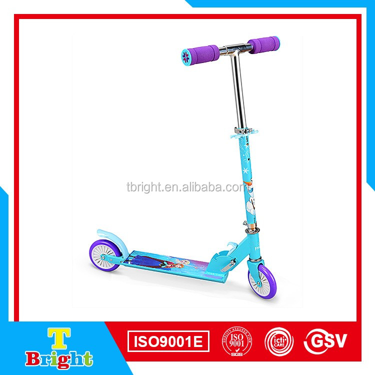 Factory directly foot pedal kids scooter
