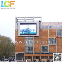 Outdoor P20 LED sign for shopping center