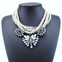 pearl chain necklace designs bridal, gold long chain pearl necklace, modern pearl necklace design