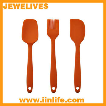 Customed kitchen silicone cooking tools sets