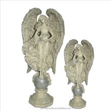 Wholesale custom polyresin angel figurines decorative for sale