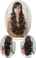 African American Women Preferred Top Quality Synthetic Lace Front Wigs Heat Resistant Fiber Wig With Wholesale Prices