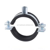 China Metal Foundry OEM High Quality M10 Screw Light Pope Pipe Clamp