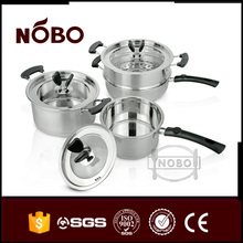 Low price stainless steel portable hot pot