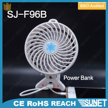 hot sale table stand USB rechargeable portable air cooling mini fan