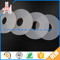 Strict inspection self-extinguish oil resistant clear silicone gasket